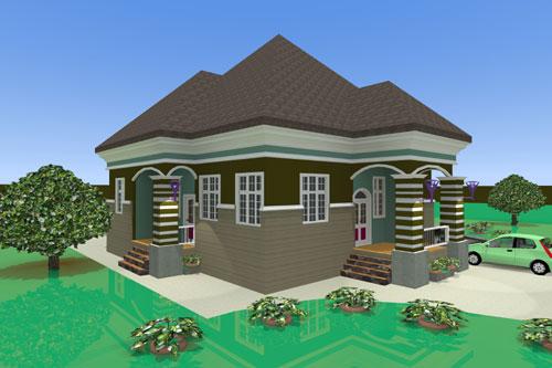 Building Plan Design Of Bungalow House