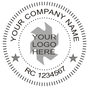 Company Seal Stamp Embossing For Just 5 500 Now Within 5 Hours To