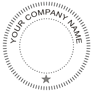 Company Name On Companyseal